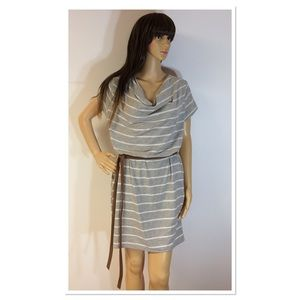 NEW DIRECTIONS STRIPED T-SHIRT DRESS